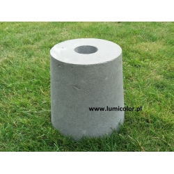 Beton bloczek fundament do lamp mały 18cm