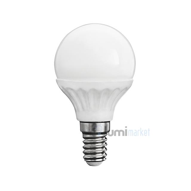 Ogromnie Żarówka LED E14 kulka 4W mleczna odpowiednik 35W HM06