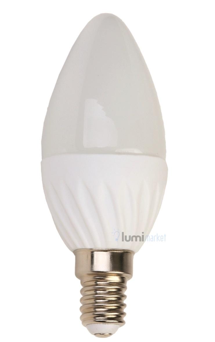 Wybitny Żarówka LED E14 kulka 4W mleczna odpowiednik 35W ZI66
